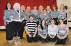 'Turkish Delights' ladies ready for their Jail House Rock performance!