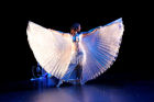 Amira with isis wings @ Hippodrome theatre